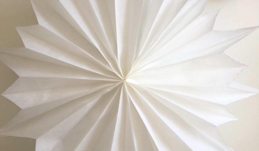 Bild für Stern aus Butterbrottüten