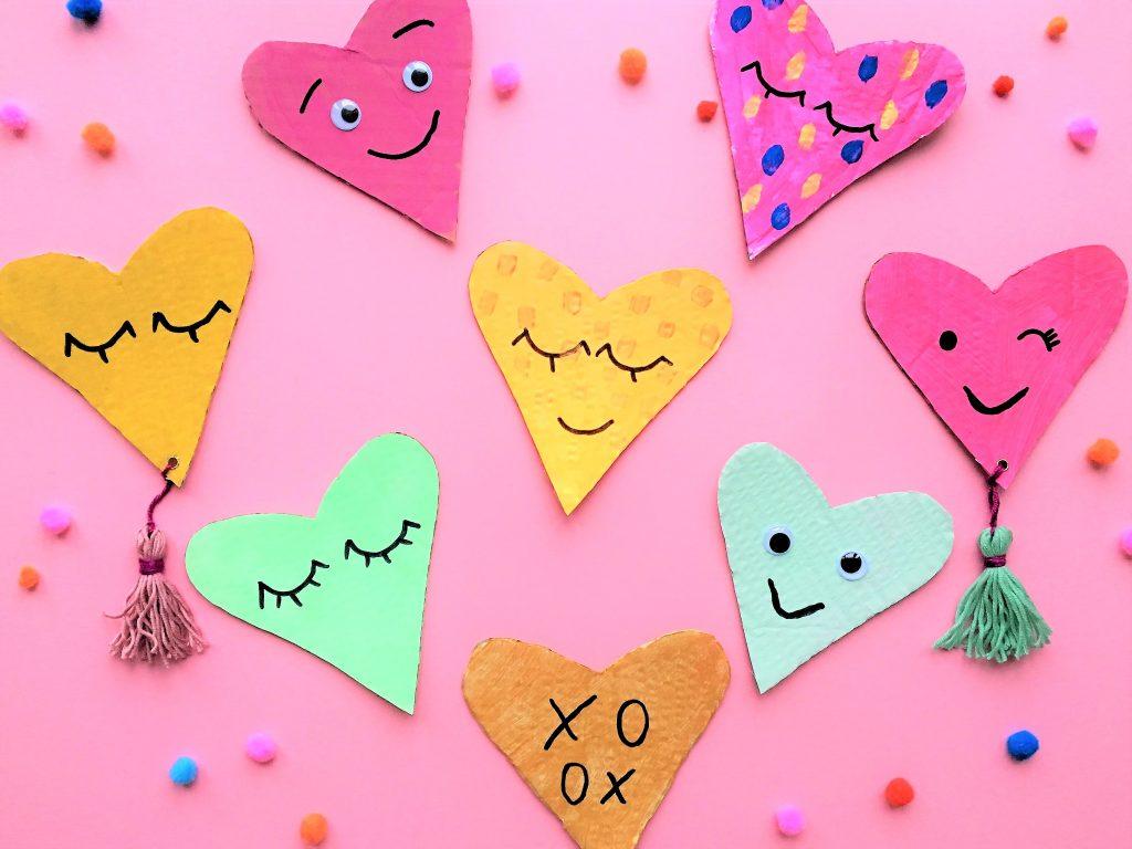 Bild für Upcycling Herzen