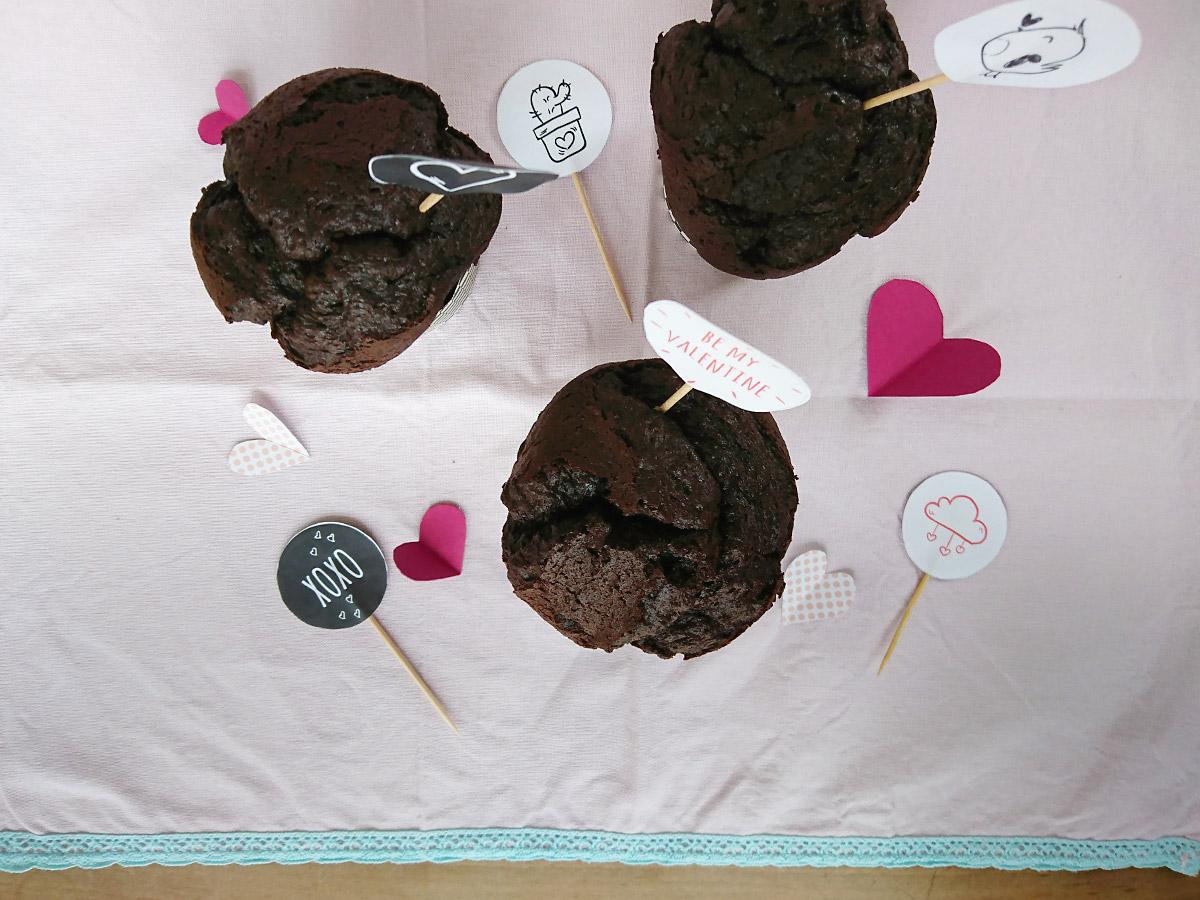 Muffins mit Caketoppern