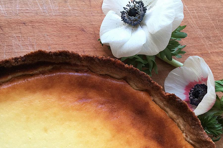 Bild für Buttermilch-Käsekuchen - Eine gute Idee!
