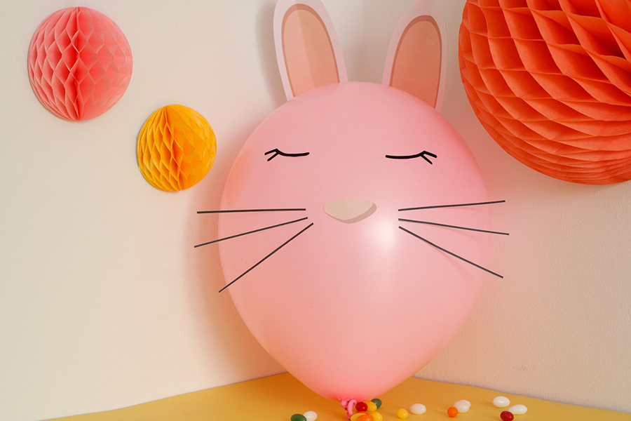 Bild für Osterhasen-Ballon