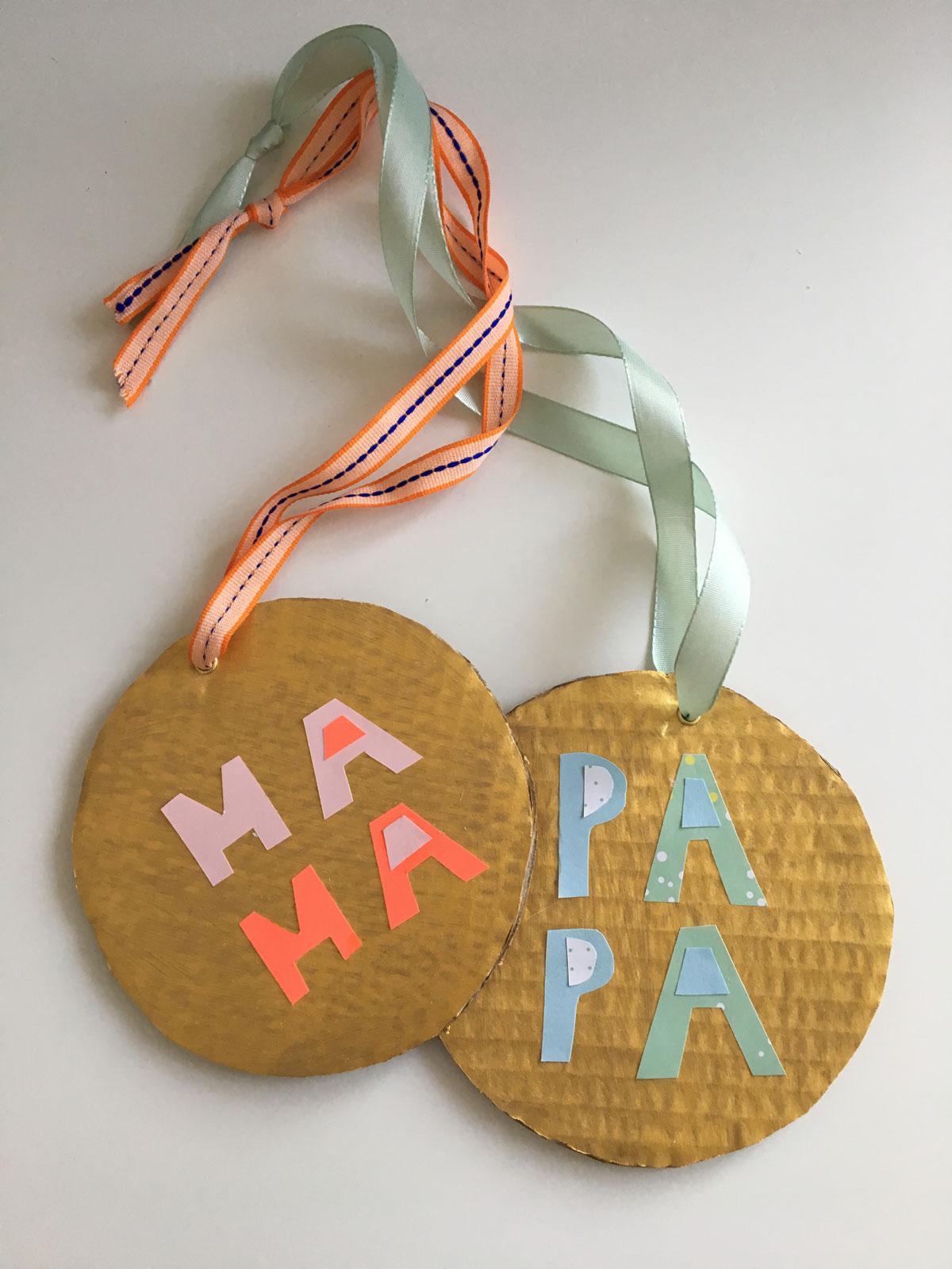 Madaillen Mama und Papa