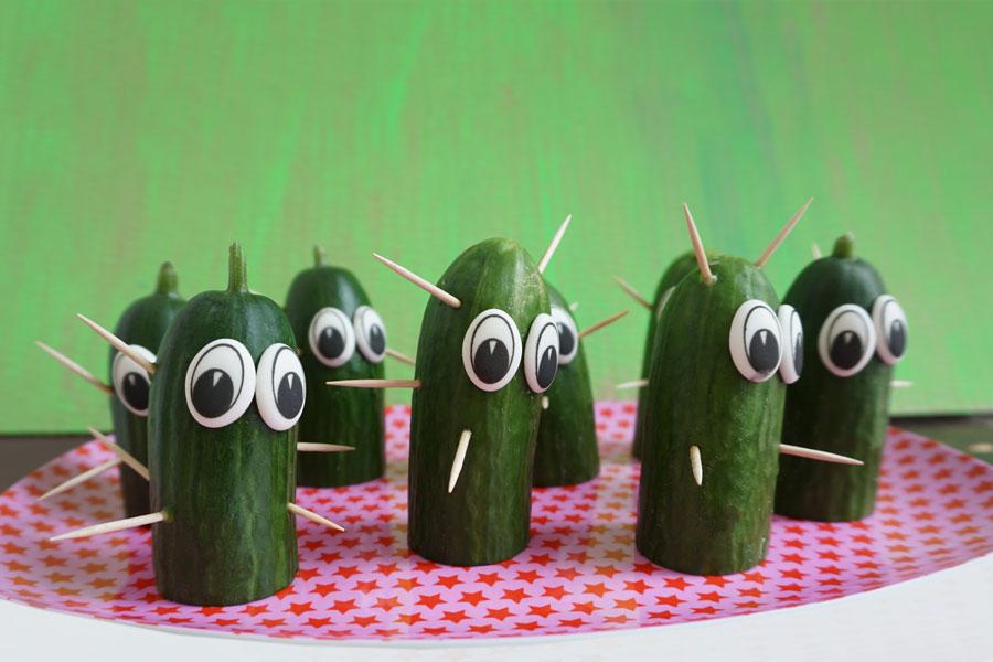 Bild für Kaktus-Snack zum Kindergeburtstag