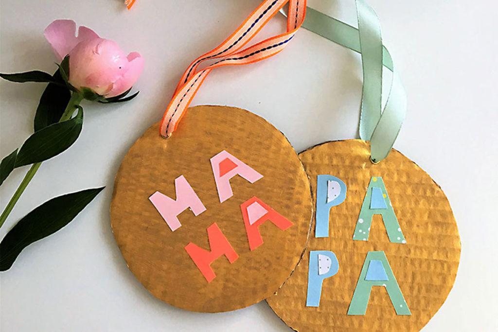 Bild für Medaillen für Mama & Papa