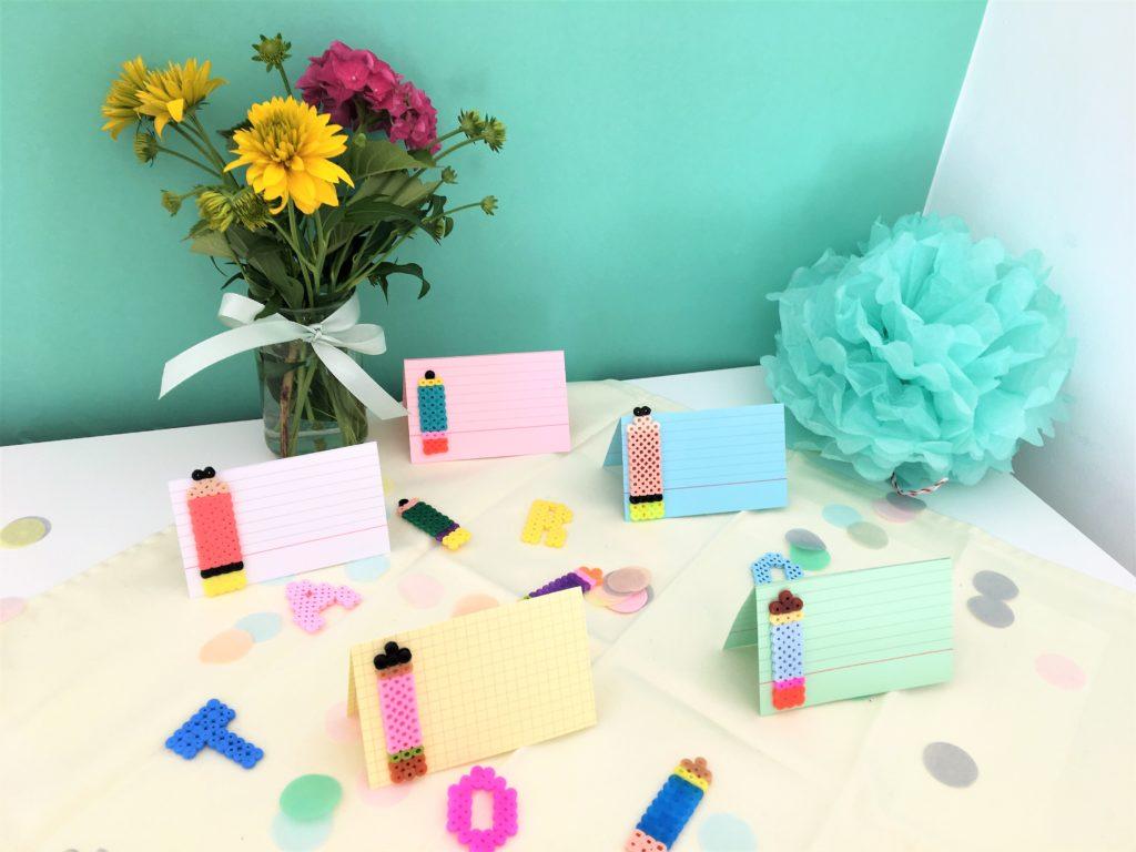 Bild für DIY-Tischkärtchen für den Schulanfang