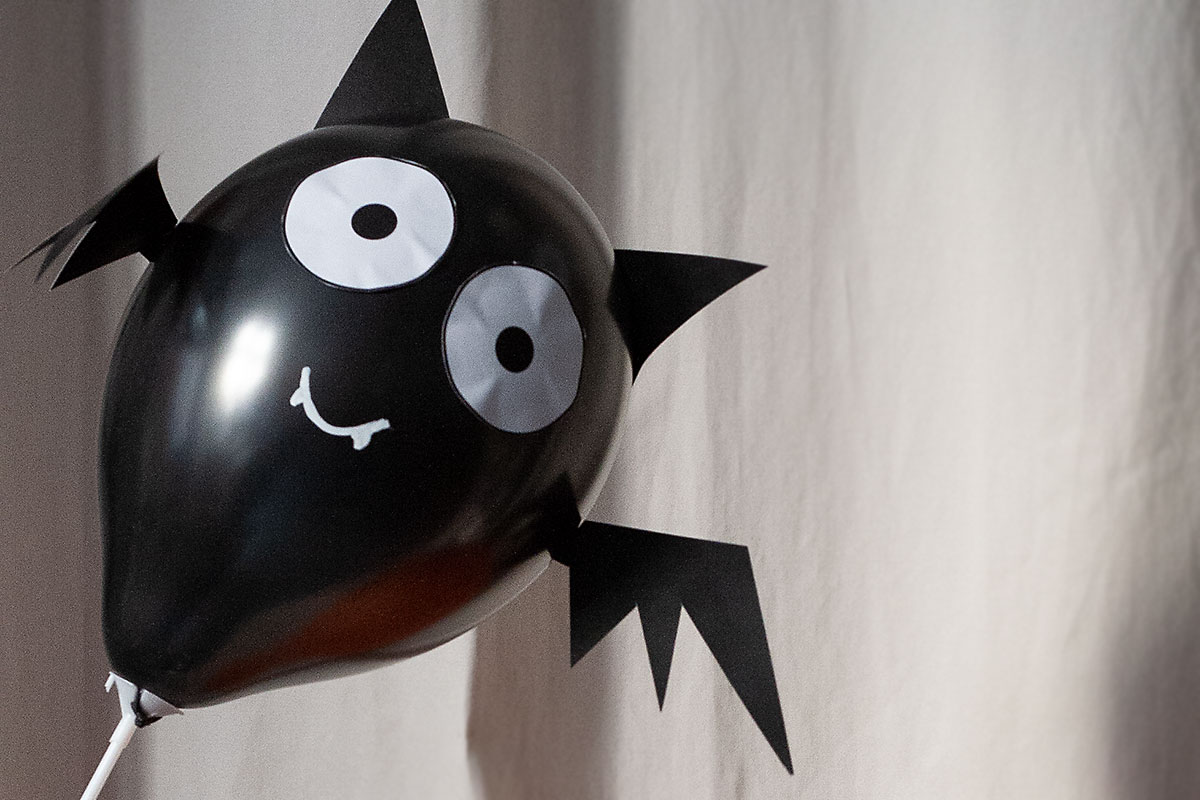 Halloween-Party Fledermaus