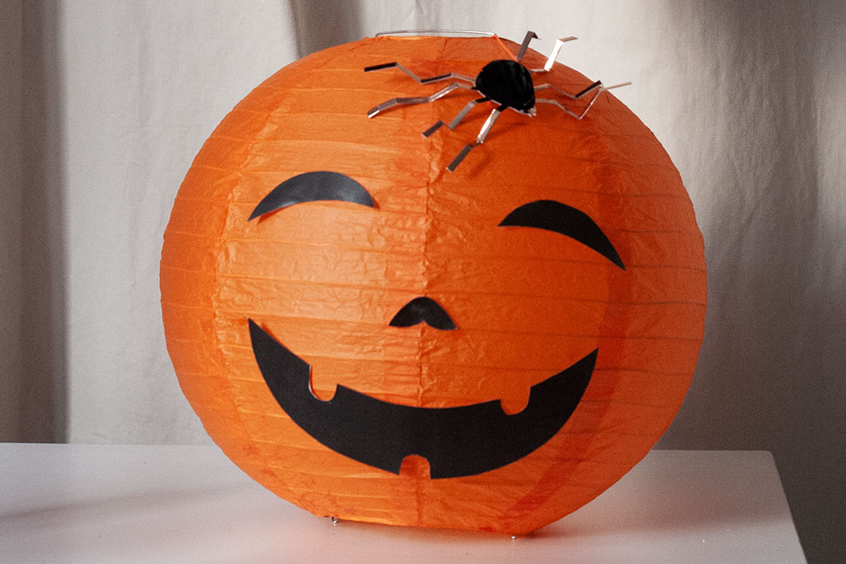 Halloween-Party Kürbis basteln